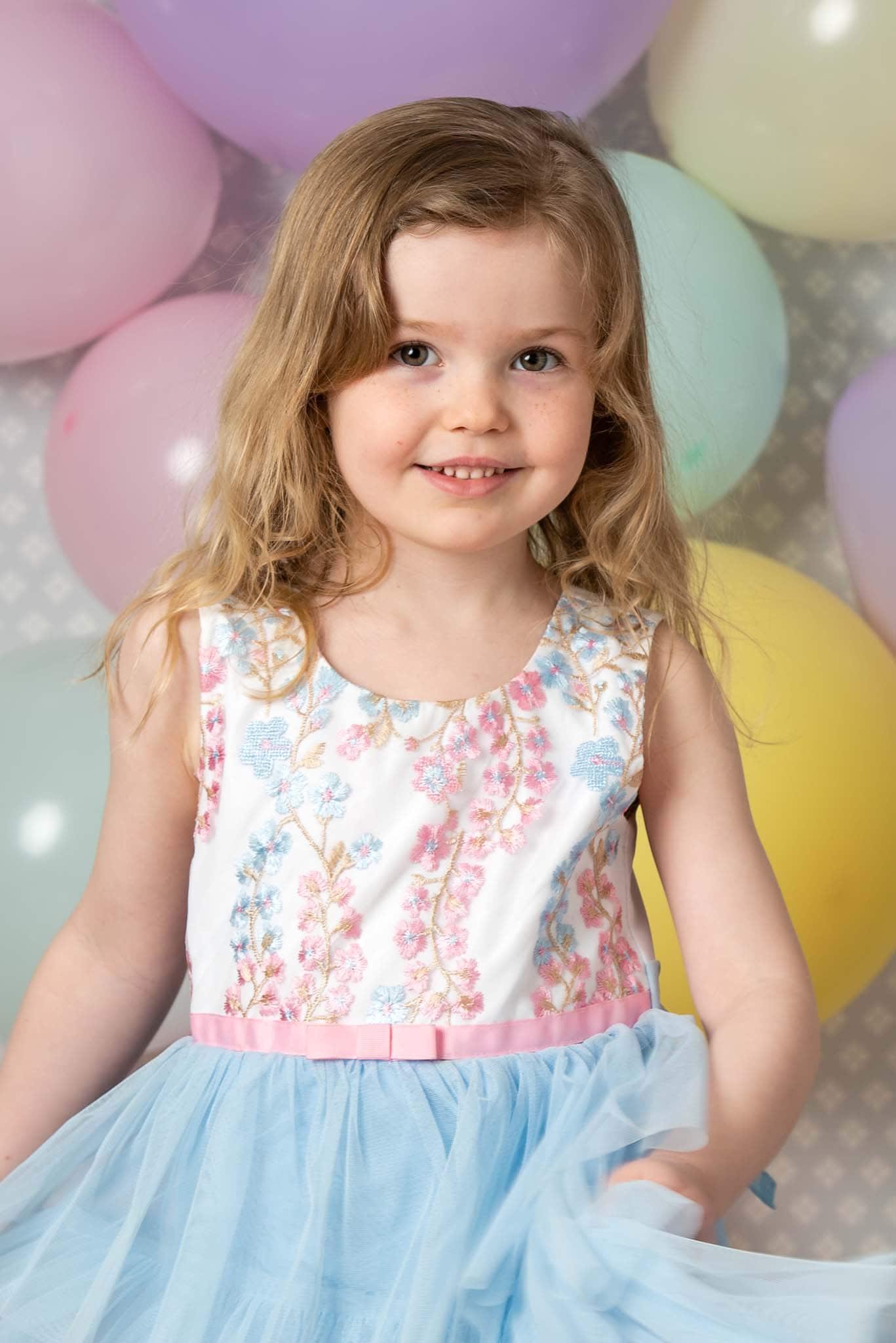 Studiofoto barn 5 år